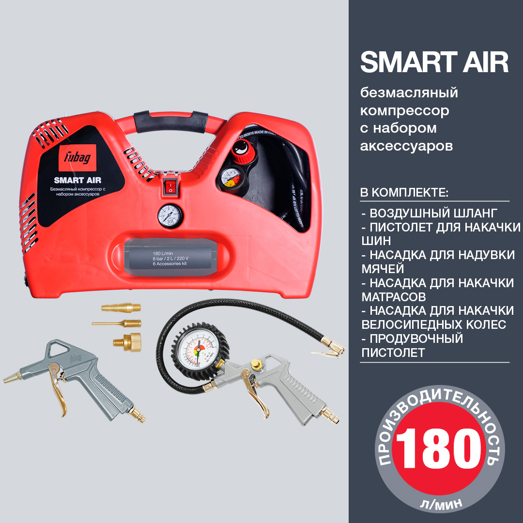 Компрессор Smart Air FUBAG 8215240KOA650